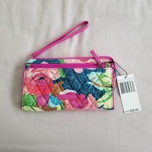 Vera Bradley RFID Front Zip Wallet